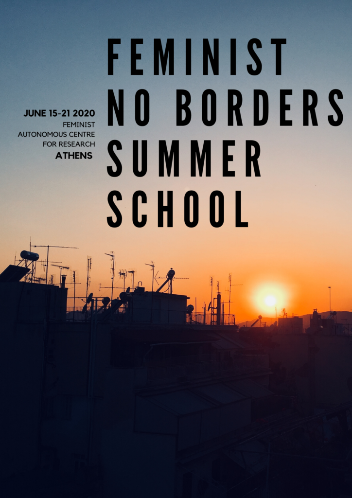 Feminist No Borders Summer School – VIRTUAL