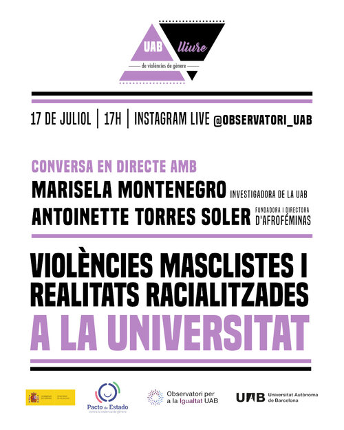 Sexist violence and racialized realities at the University