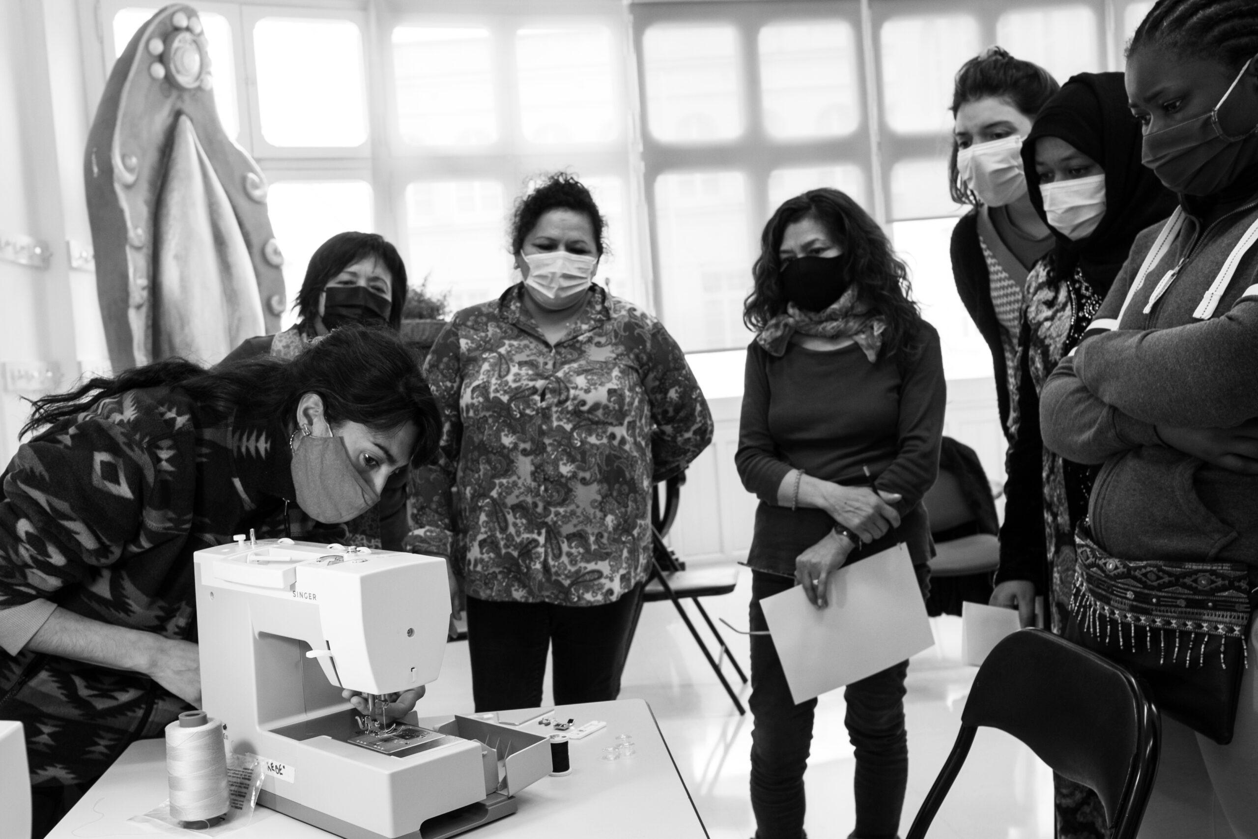 Read more about the article Formación ocupacional en textil de Sindillar