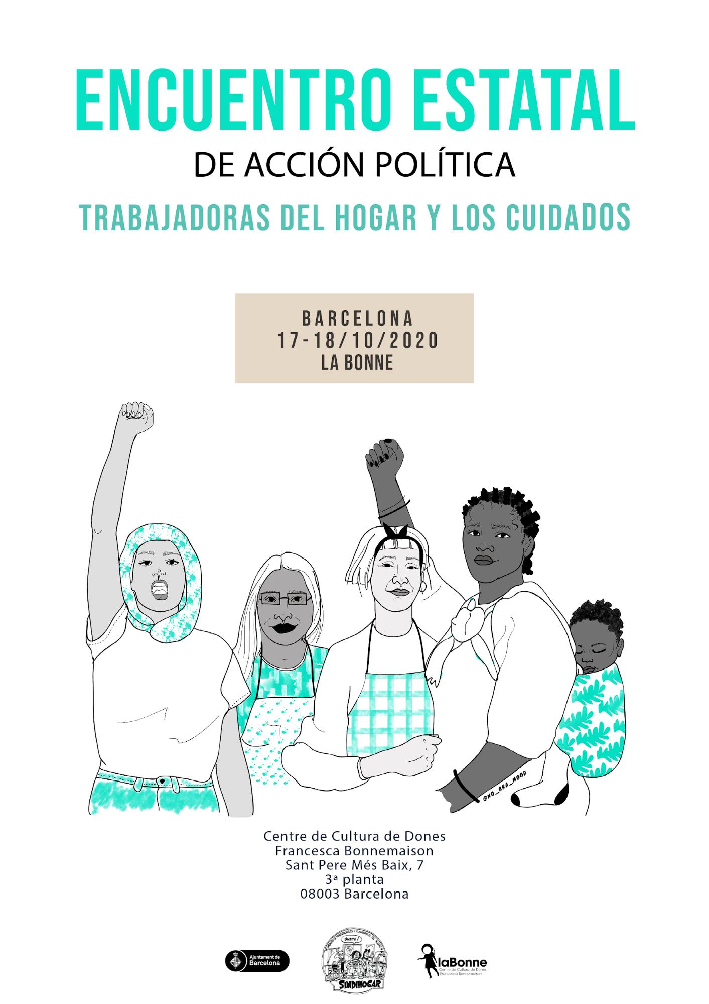 Encuentro Estatal de Acción Política: Trabajadoras del hogar y los cuidados (Sindillar)