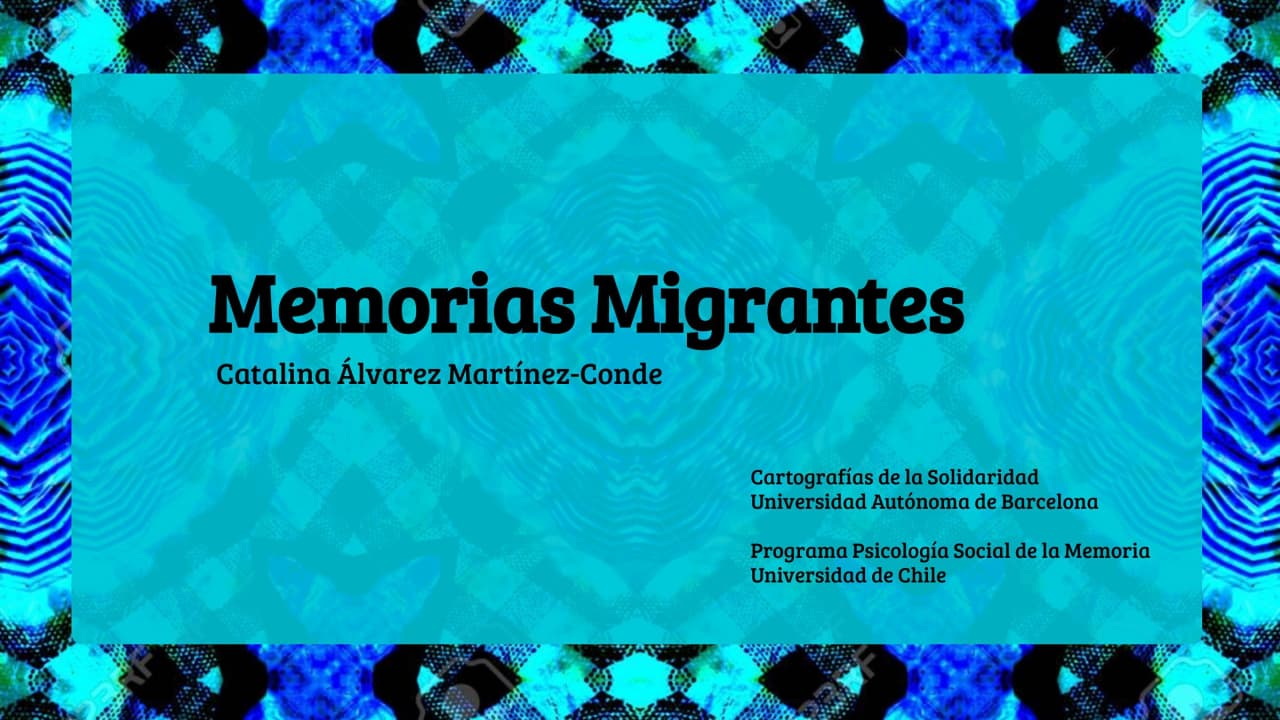 """Read more about the article """"Migrant memories"""" Workshop, June 3rd"""