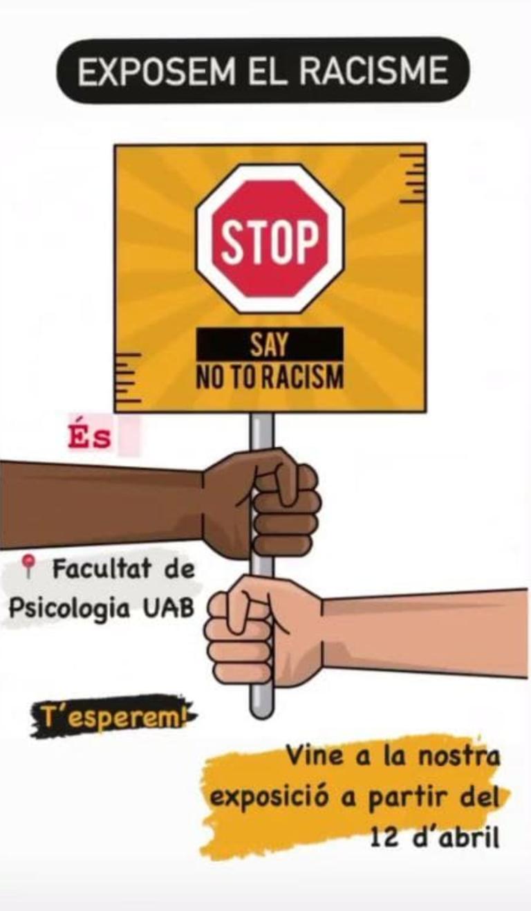 """Read more about the article Exhibition: """"Exposem el Racisme a la UAB"""""""