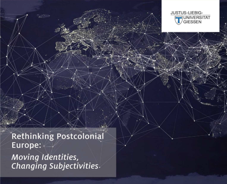 """Read more about the article Participation of PAR-Giessen in Postgraduate Forum Postcolonial Narrations """"Rethinking Postcolonial Europe: Moving identities, Changing subjectivities"""" (10-12/02/2021)"""